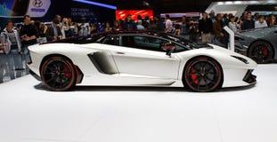 Lamborghini Aventador LP700-4 Pirelli Edition Geneva Motor Show 2015 Royalty Free Stock Image