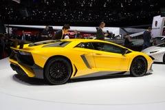Lamborghini Aventador LP 750-4 SuperVeloce Stock Foto's