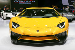 Lamborghini 2015 Aventador LP 750-4 SuperVeloce Fotografie Stock Libere da Diritti