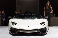 Lamborghini Aventador LP 750-4 SuperVeloce 库存图片