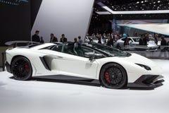 Lamborghini Aventador LP 750-4 SuperVeloce 免版税库存照片