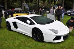 A Lamborghini Aventador LP700-4 Royalty Free Stock Photography