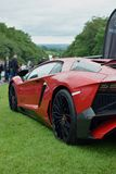 Lamborghini Aventador raro SuperVeloce SV fotografia stock