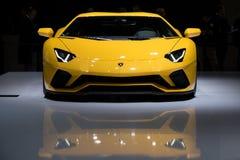 Lamborghini Aventador S sports car Royalty Free Stock Image