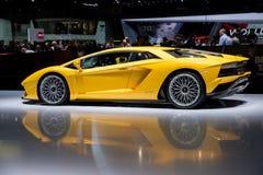 Lamborghini Aventador S sports car Stock Photography