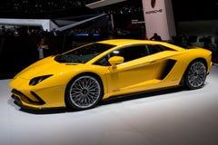 Lamborghini Aventador S sports car Stock Photos