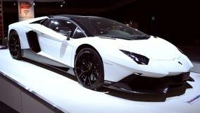 Lamborghini Aventador supercar stock video
