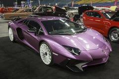 Lamborghini Aventador SV imagenes de archivo