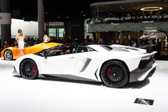2015 Lamborghini Aventador SV Roadster stock images