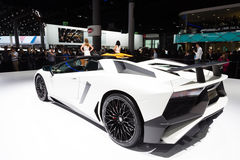 2015 Lamborghini Aventador SV Roadster royalty free stock photo
