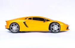 Lamborghini bawi się samochód obrazy stock