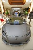 Lamborghini bij Aventura-Wandelgalerij Royalty-vrije Stock Foto's