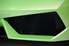 Lamborghini car  air intake Stock Images