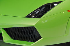Lamborghini car  headlight and air intake Royalty Free Stock Photos