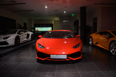 Lamborghini cars for sale Royalty Free Stock Photos
