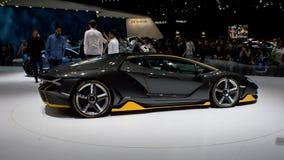 Lamborghini Centenario LP770-4 at Geneva 2016 Royalty Free Stock Photo