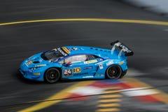 Lamborghini  in City Grand Prix. Stock Photos