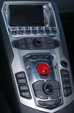 Lamborghini Control Panel Royalty Free Stock Photo