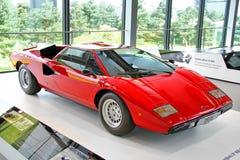 Lamborghini Countach Arkivfoto