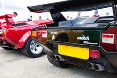 Lamborghini Countach Imágenes de archivo libres de regalías