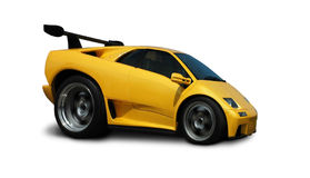 Lamborghini d'accelerazione Diablo fotografie stock