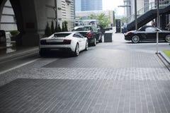 Lamborghini Diablo 2014 White Royalty Free Stock Photo