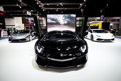 Lamborghini en Tailandia 37.a Motorshow internacional 2016 fotos de archivo