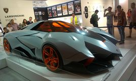 Lamborghini expo 3 Zdjęcia Royalty Free