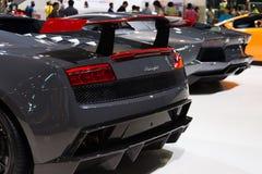 Lamborghini Gallado on display Stock Photos