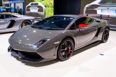 Lamborghini Gallado na pokazie Fotografia Royalty Free