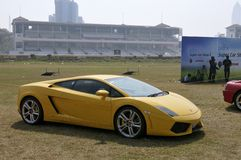 Lamborghini Gallardo стоковое фото