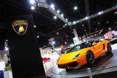 Lamborghini Gallardo Bicolore Royalty Free Stock Image