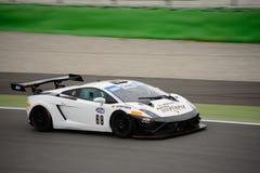 Lamborghini Gallardo GT3 à Monza Image stock