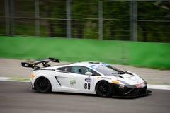 Lamborghini Gallardo GT3 à Monza Photographie stock