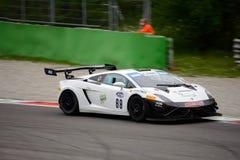 Lamborghini Gallardo GT3 en Monza Fotografía de archivo