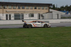 LAMBORGHINI GALLARDO GT3 GTC RACE CAR Stock Photography