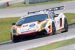 LAMBORGHINI GALLARDO GT3 GTC samochód wyścigowy Zdjęcia Stock