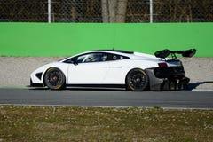 Lamborghini Gallardo LP 570-4超级Trofeo 2015年 图库摄影