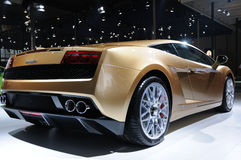 Lamborghini gallardo lp 560-4后方 库存图片