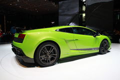 Lamborghini Gallardo LP 570-4. The new Lamborghini Gallardo LP 570-4 presented at the 80th International Motor Show, Geneva 4-14 March 2010 Stock Images