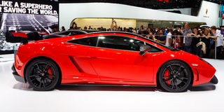 Lamborghini Gallardo LP 570-4 Stock Photo