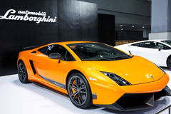 Lamborghini  gallardo lp560-4. Lamborghini Gallardo is a mid-engine two-seater, at the 2003 Geneva Motor Show debut, as the Lamborghini ( Lamborghini ) launched Stock Photos
