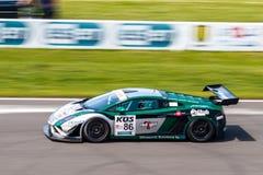 Lamborghini Gallardo race car stock photography