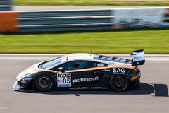 Lamborghini Gallardo race car royalty free stock photography