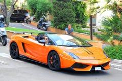 Lamborghini Gallardo Spyder fotografia stock