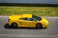 Lamborghini Gallardo w obwodzie de Barcelona, Catalonia, Hiszpania obraz royalty free