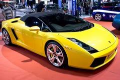 Lamborghini Galliardo Convertible - Front - MPH Royalty Free Stock Images