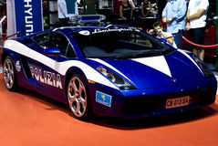 Lamborghini Galliardo - Polizia - MPH Royalty Free Stock Photos