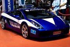 Lamborghini Galliardo - Polizia - MPU Royalty-vrije Stock Foto's