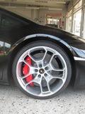 Lamborghini. Garage of dream, rich man toys royalty free stock photo